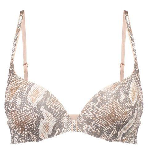 Brassiere, Clothing, Lingerie, Undergarment, Swimsuit top, Bikini, Lingerie top, Beige,