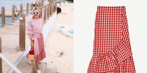 Pattern, Textile, Sunglasses, Plaid, Street fashion, Tartan, Bag, Goggles, Design, Linens,