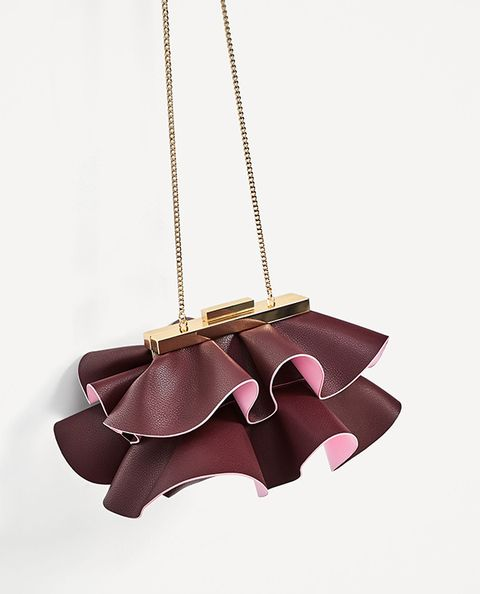 Product, Pink, Brown, Fashion accessory, Leather, Chain, Metal, Necklace, Beige, Bag,