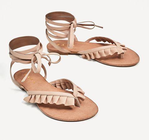 Footwear, Brown, Product, Sandal, Fashion accessory, Tan, Beige, High heels, Fawn, Slingback,