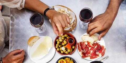 Food, Hand, Cuisine, Meal, Tableware, Table, Dish, Wrist, Recipe, Ingredient,