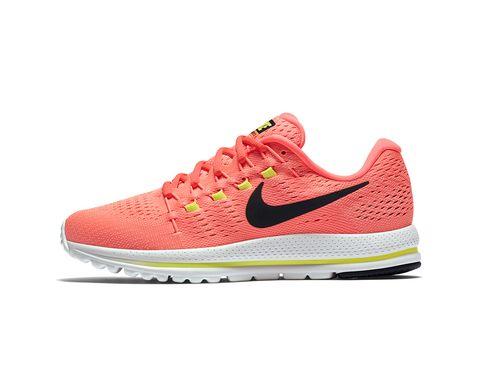 Footwear, Product, Shoe, White, Orange, Red, Pink, Magenta, Carmine, Tan,