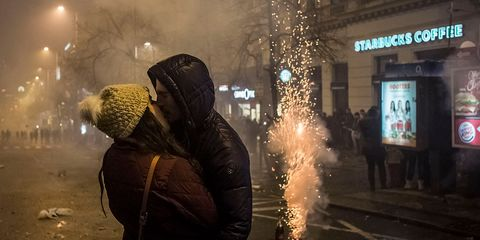 Midnight, Pollution, Street light, Haze, Smoke,
