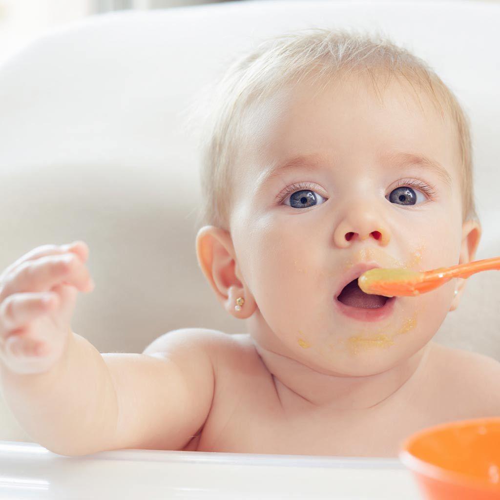 como preparar fruta bebe 4 meses