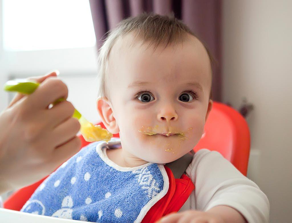 Primer pure de verduras para bebe de 6 meses