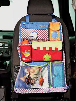 Juguetes para entretener al beb en el coche for Espejos para ver a los bebes en el coche