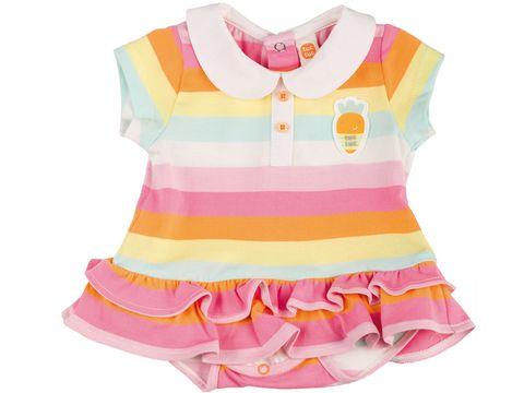 9d184671a Vestido de algodón de rayas