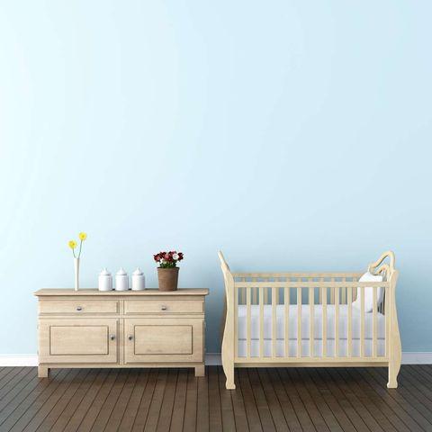 De qué color pinto el cuarto del bebé?