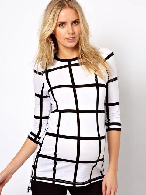 080e70c4d Moda blanco y negro para embarazadas