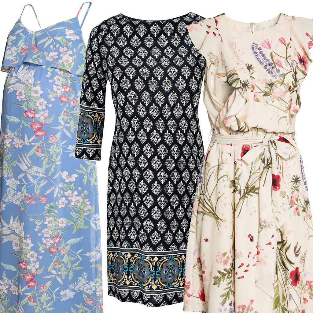 Modelos de vestidos de verano en chalis