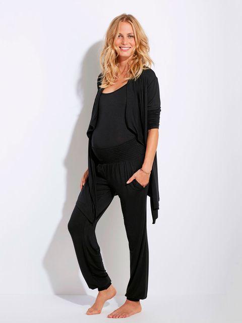 51c37630d Embarazo  ropa para estar guapa y cómoda en casa