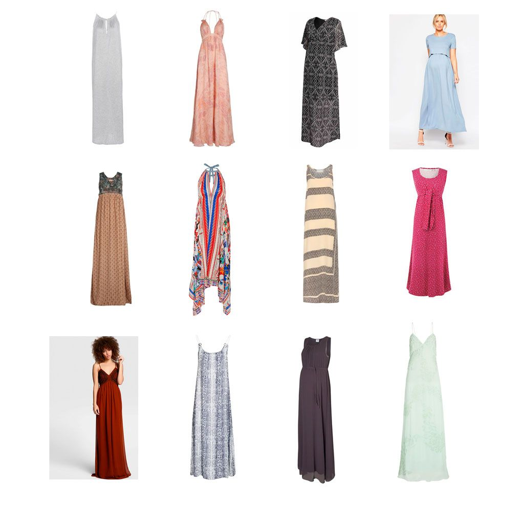 d01d9731c Vestidos largos de verano para embarazadas