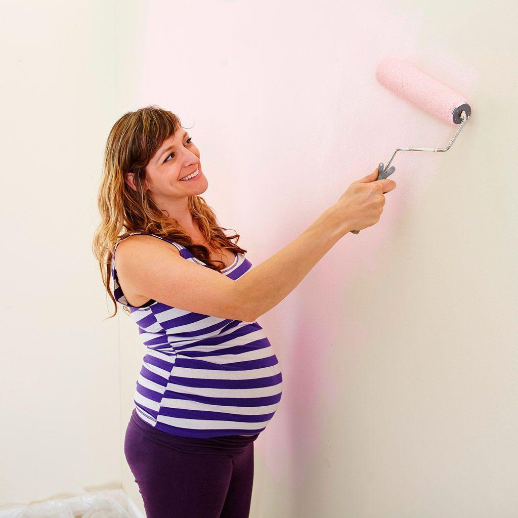 Pintar el cuarto del bebé en el embarazo