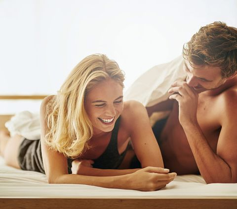 Blond, Fun, Room, Smile, Leg, Leisure, Sitting, Vacation, Long hair, Photography,