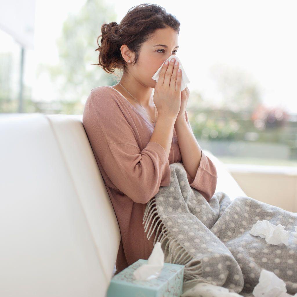 De tos seca mes embarazo primer el en