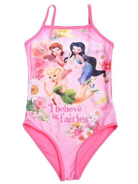 832390e18 Porque a todas las niñas les encanta zambullirse con sus heroínas. En un  llamativo color rosa. Disponible en tallas 4 y 5 años. (14