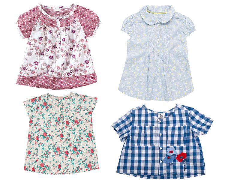 7624e0c45 Blusas fresquitas de verano para niñas