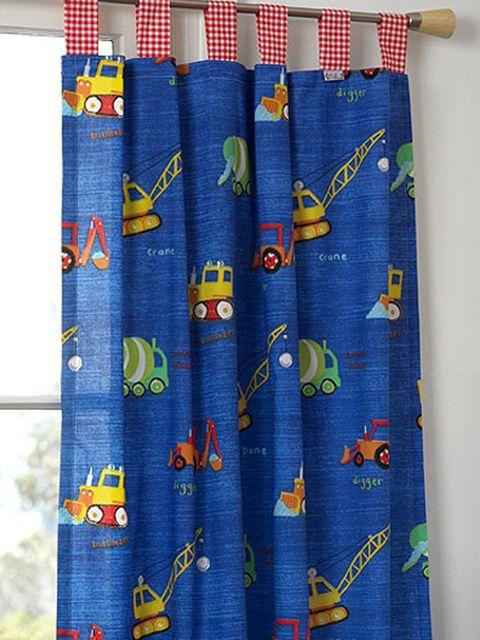 Visillos y cortinas para el cuarto de los niños