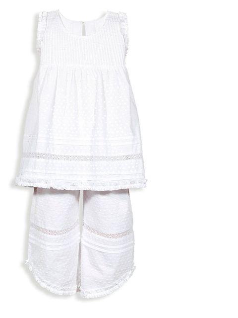 dfa736abf27f Quizás lo más característico de este pijama es la original forma del  pantalón. Su precio es de 60,00 €