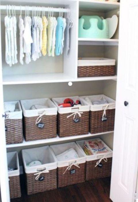 7da6d3a5e Ideas para organizar las cosas de tu bebé