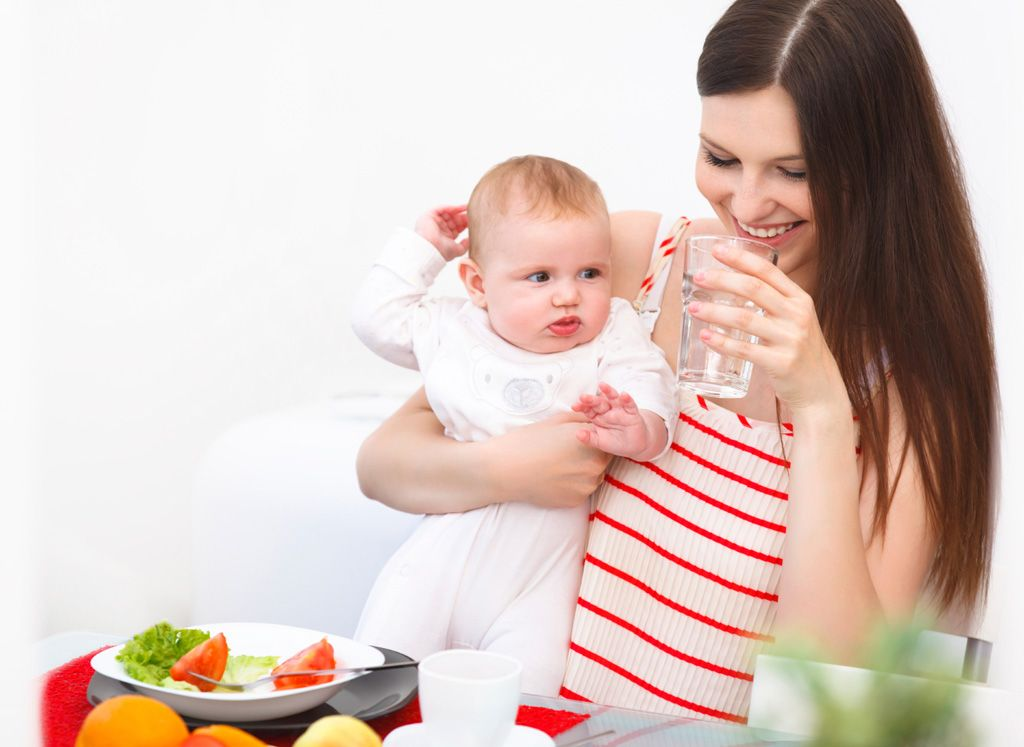 Dieta ideal para madres lactantes