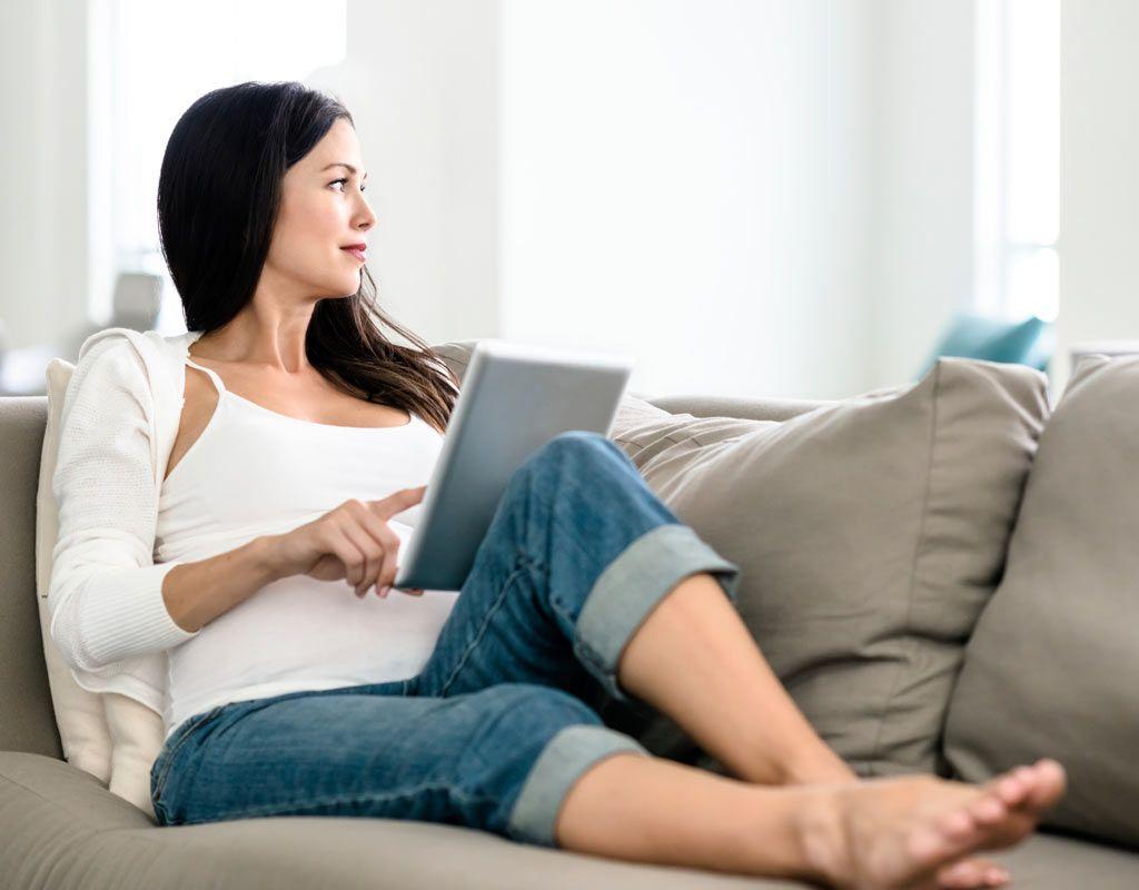 Dolor pélvico inferior agudo en un embarazo de 35 semanas.