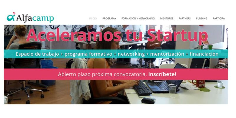 Alfacamp, aceleradora de starups en Sevilla