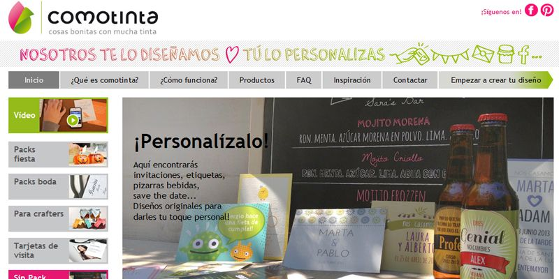 Diseño y personalización para lo hecho a mano