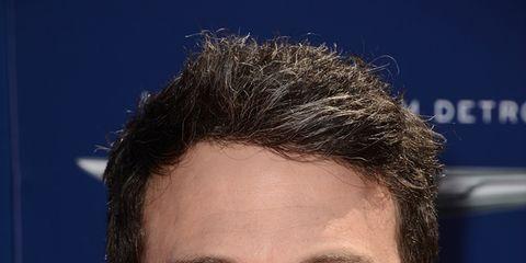Hair, Facial hair, Lip, Cheek, Mouth, Hairstyle, Chin, Forehead, Eyebrow, Collar,