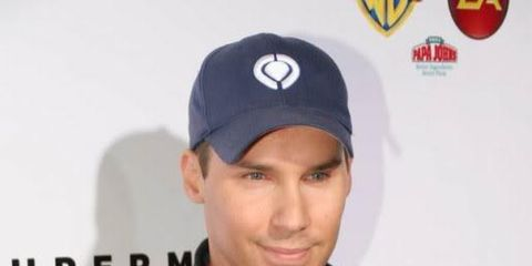 Cap, Jacket, Sleeve, Red, Baseball cap, Headgear, Logo, Cool, Carmine, Cricket cap,
