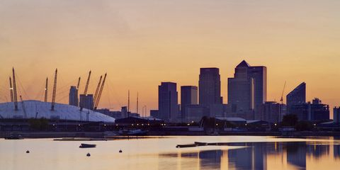 City, Dusk, Reflection, Tower block, Commercial building, Evening, Urban area, Metropolitan area, Cityscape, Skyline,