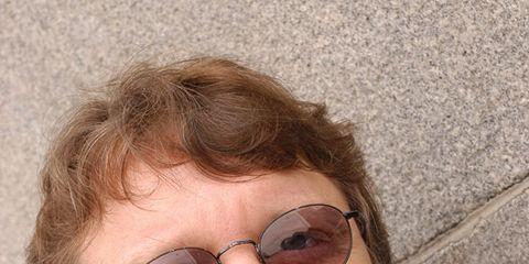 Clothing, Eyewear, Glasses, Vision care, Facial hair, Lip, Hairstyle, Dress shirt, Collar, Forehead,