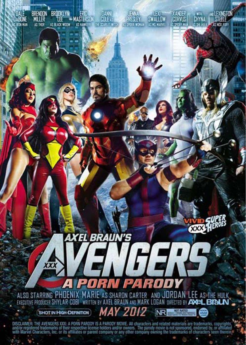 The Avengers 2 Xxx A Porn Parody