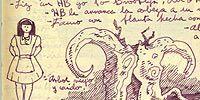 Organism, Art, Illustration, Drawing, Creative arts, Mythology, Fictional character, Painting,