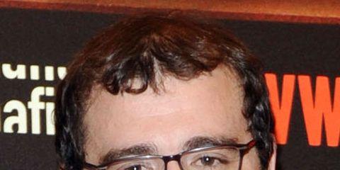 Eyewear, Glasses, Vision care, Lip, Cheek, Hairstyle, Chin, Forehead, Eyebrow, Collar,