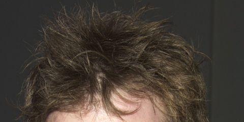 Hair, Lip, Cheek, Facial hair, Hairstyle, Chin, Forehead, Eyebrow, Collar, Eyelash,