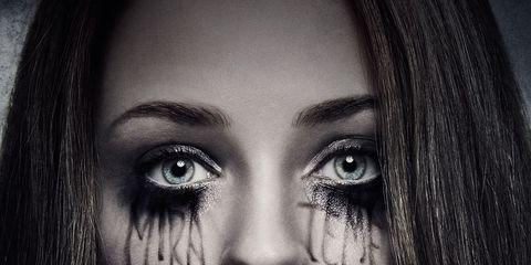 Nose, Lip, Hairstyle, Eye, Eyebrow, Eyelash, Style, Iris, Beauty, Black hair,