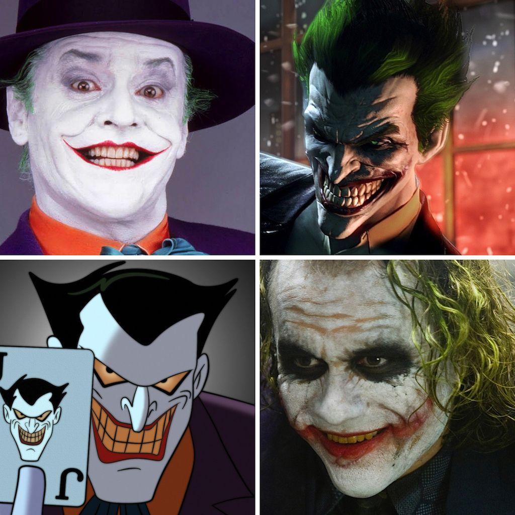 ¡HAHAHA! Un repaso a las encarnaciones del Joker