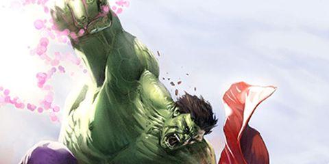 Fictional character, Cg artwork, Cartoon, Fiction, Hero, Action-adventure game, Animation, Illustration, Superhero, Hulk,
