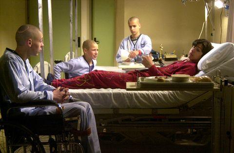 10 hospitales de película