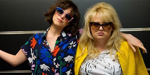 Eyewear, Hair, Sunglasses, Glasses, Blond, Vision care, Cool, Fun, Hair coloring, Smile,