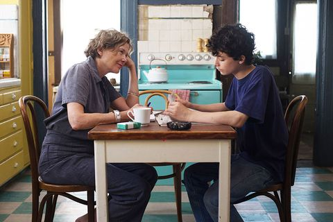 Conversation, Table, Furniture, Room, Sitting, Interior design, Leisure,