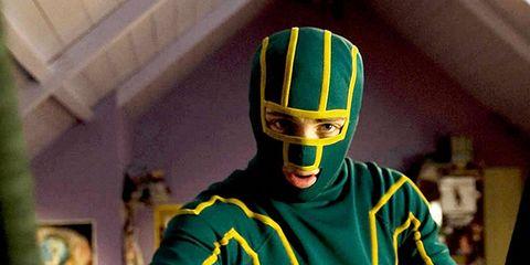 Green, Yellow, Jersey, Sports uniform, T-shirt, Sportswear, Outerwear, Uniform, Costume, Fictional character,