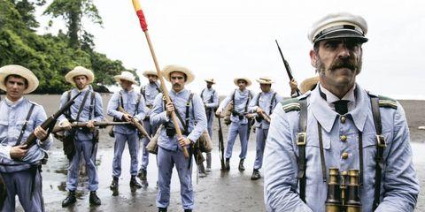 Soldier, Uniform, Military person, Military organization, Headgear, Military uniform, Team, Parade, Military, Cap,