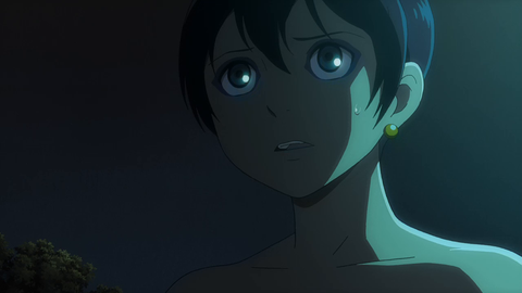 Cartoon, Anime, Cg artwork, Animation, Black hair, Fictional character, Illustration, Space, Screenshot,