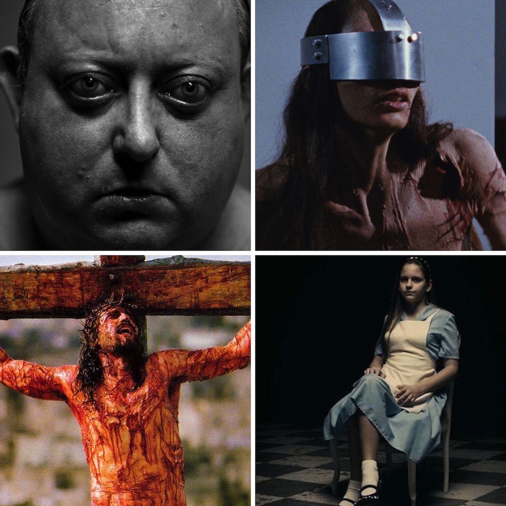 20 películas para apartar la vista