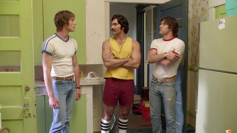 Leg, Yellow, Shoulder, Denim, Standing, Jeans, Shorts, Waist, Fixture, Youth,