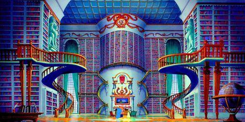 Blue, Landmark, Architecture, Majorelle blue, Building, Metropolitan area, Facade, Art, Visual arts, Symmetry,