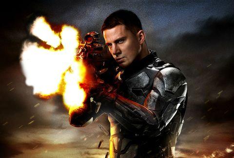 Fire, Flame, Fictional character, Flash photography, Heat, Pollution, Hero, Action film, Smoke, Gunshot,