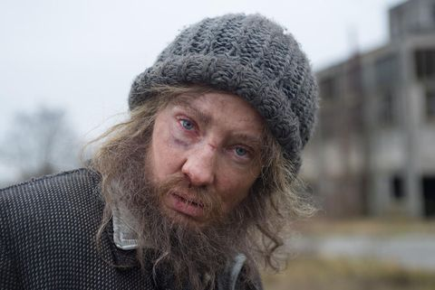 Facial hair, Winter, Textile, Beard, Headgear, Moustache, Wool, Street fashion, Photography, Bonnet,
